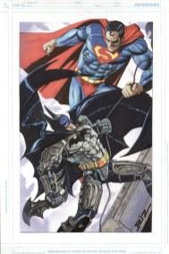 DKR - Batman vs. Superman