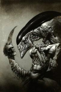 Alien B&W