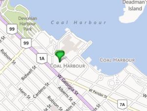 1650 Bayshore Drive Map