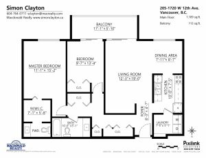 1720 West 12th Floor Plan