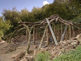 construction tonnelle en bois