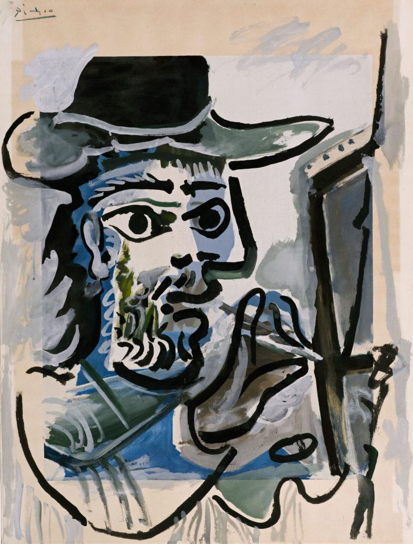 Le Peintre au travail 1964  Dickinson