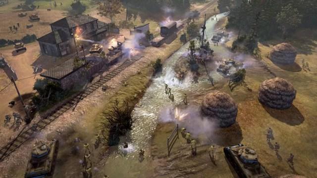 Capture d'écran de Company of Heroes 2 (tirée du site officiel)