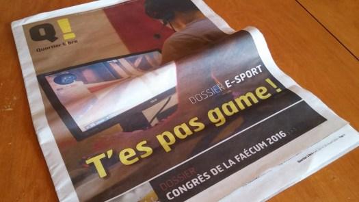 Quartier Libre - Dossier e-sport