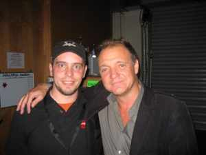 with Guy Pratt (Pink Floyd, David Gilmour)