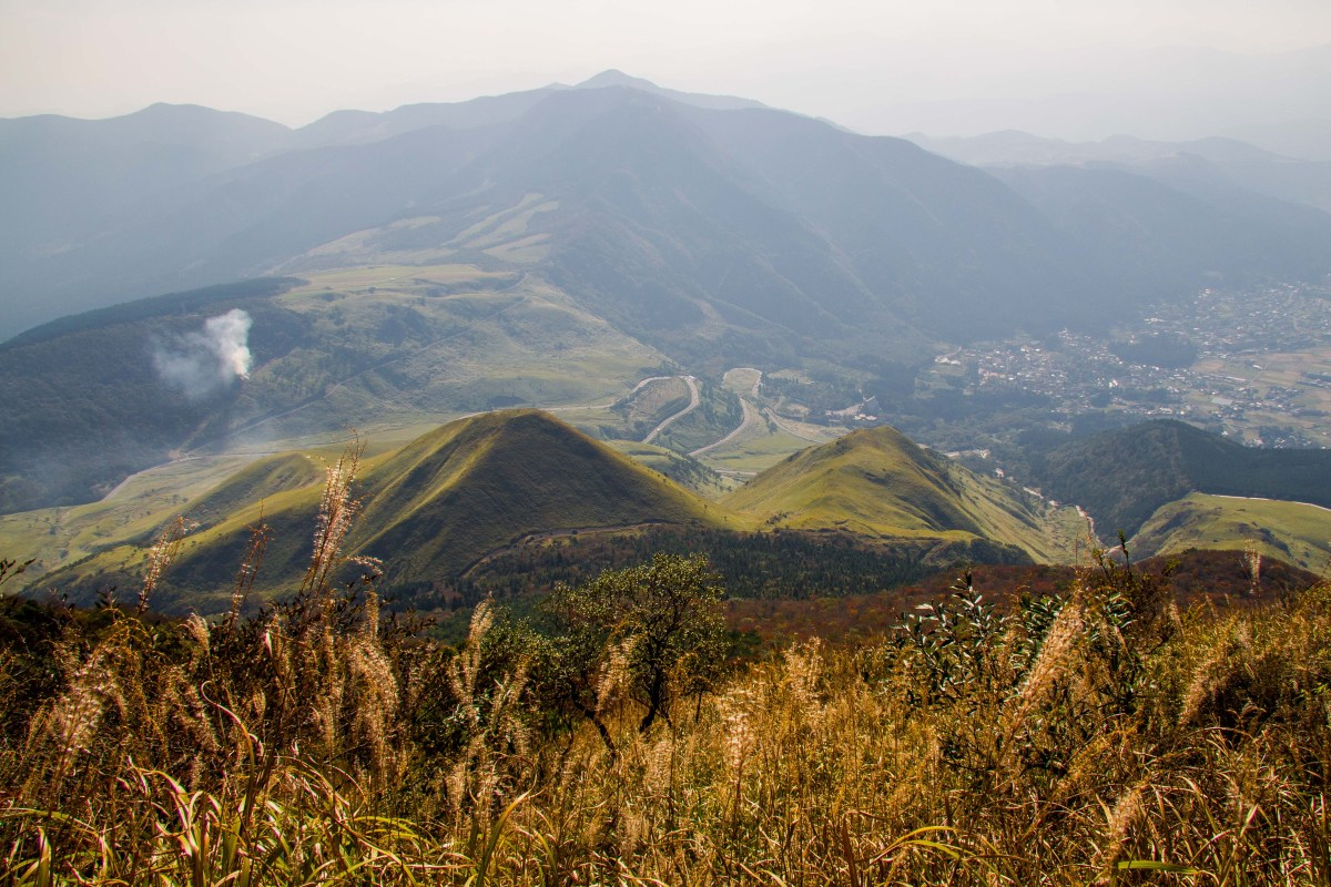 Hiking the Yufudake Trail