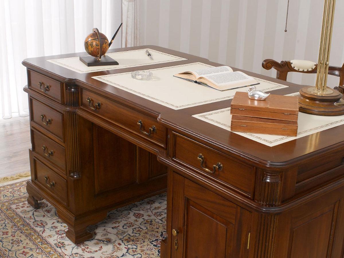 Partner Schreibtisch Victorian Englischer Stil Bro Doppelschreibtisch 140 cm wa  eBay