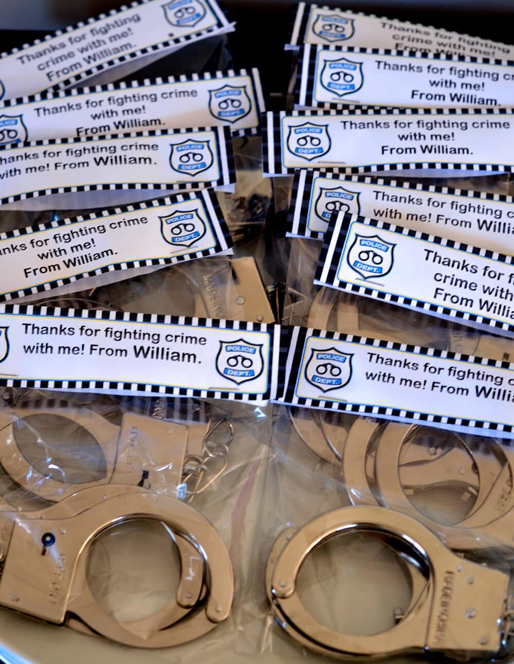 Williams 6th Police Birthday Party SIMONEmadeit Party