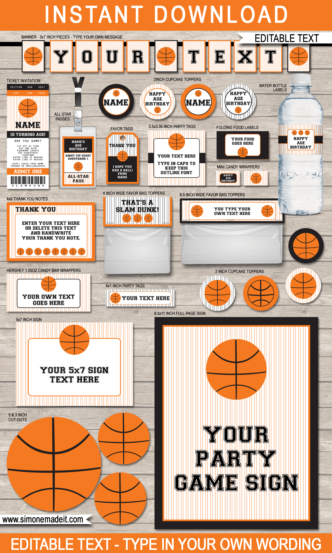 Basketball Scoreboard Printable