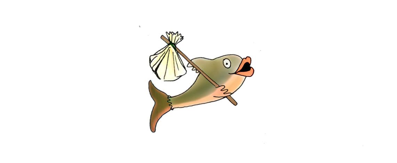 aumoniere saumon illustration lul