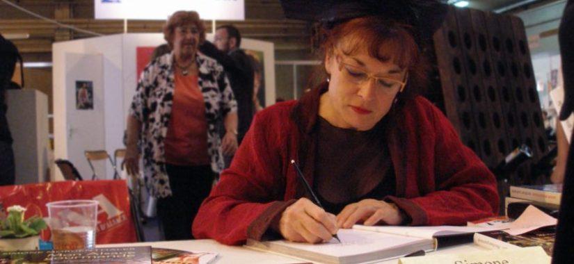 Simone coiffe Salon livre colmar 22 novembre 2009 Photo Jean Paul