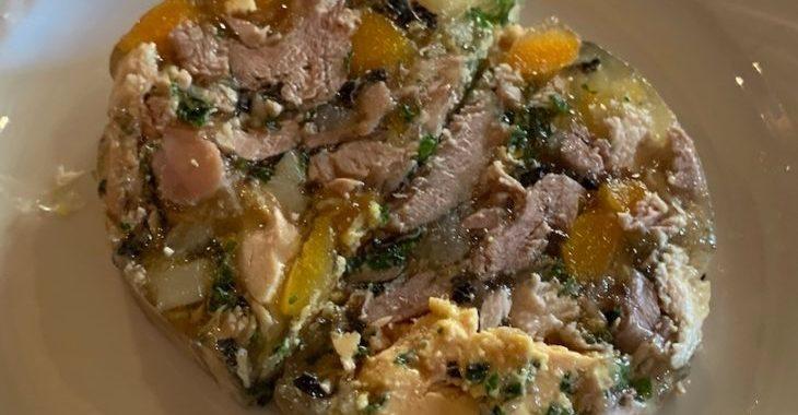 presskopf poulet foie gras Koenig