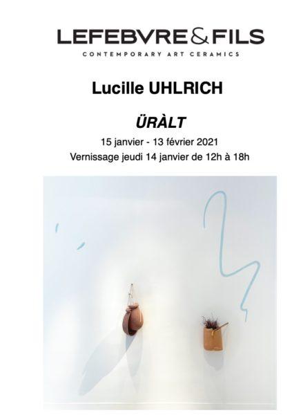 affiche expo Lucille Uralt