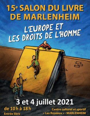 affiche salon du livre Marlenheim 2021