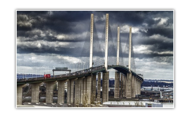 Dartford Bridge in kent