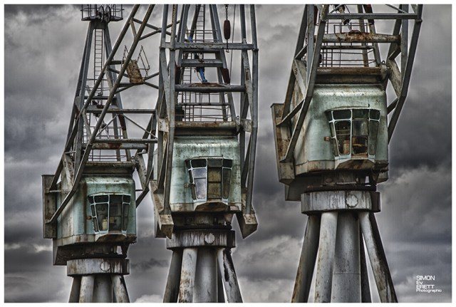 old cranes in kent