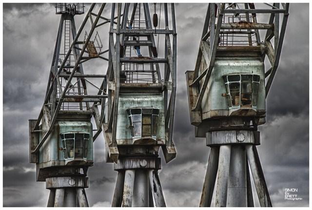 old cranes in kent