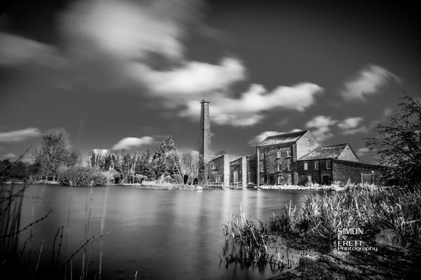 Tonge Mill long exposure