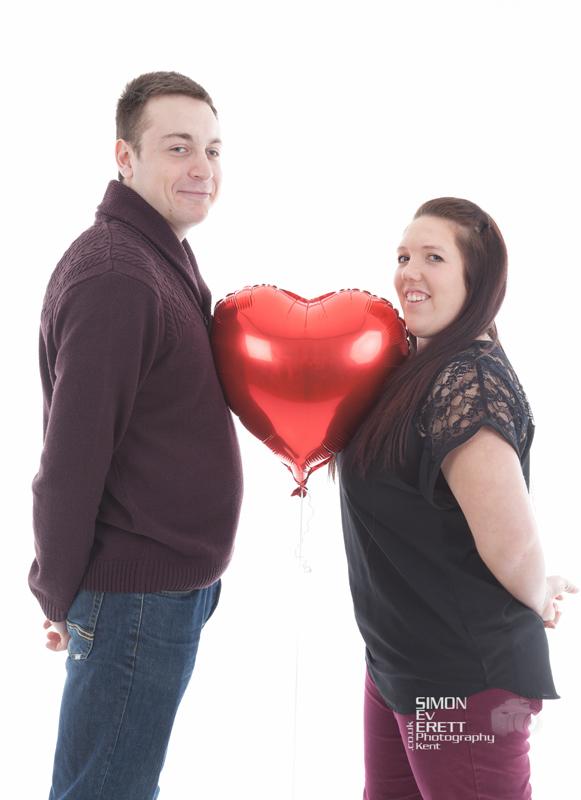 Couples valentine Studio Shoot