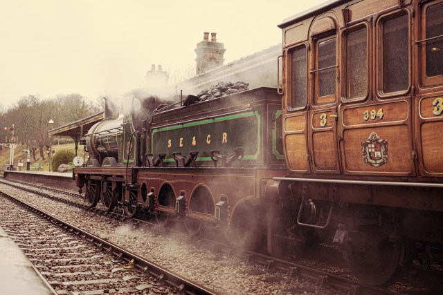 Trip To Bluebell Railway Sussex