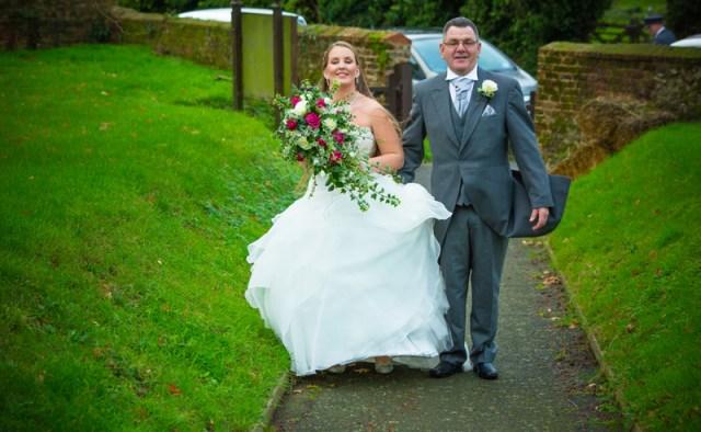 Charley & Dan Allhallows wedding