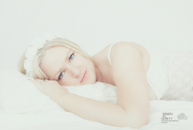 Boudoir wedding photographer