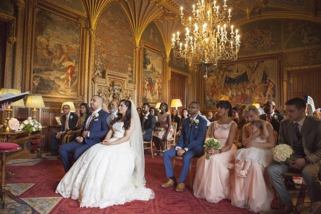 Ledbury castle wedding photography