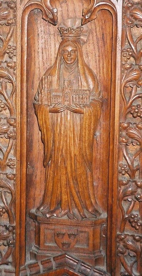 St Etheldreda, Abbess of Ely, pray for us.