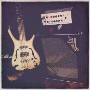 Simon Little's Bass Rig 10/04/15