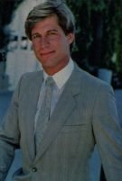 Simon MacCorkindale as Greg Reardon in Falcon Crest