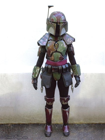 Female Mandalorian Costume