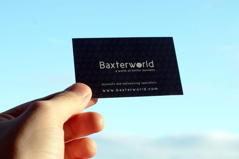 Business Card Design – Baxterworld