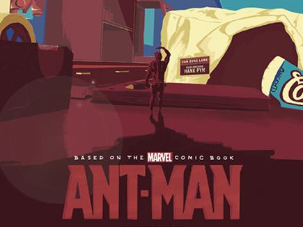 Ant-Man Poster Design (Teccles Cake Set)