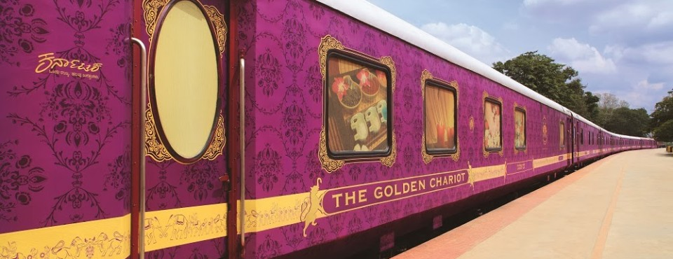 Book Luxururios Golden Chariot Train India Tour Packages