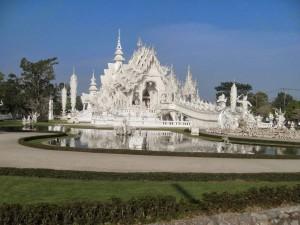 Northern Thailand White Temple Chiang Rai