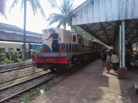Bago Train Station
