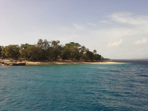 Sailing vanuatu islands Wala island