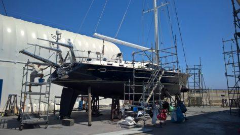 Boat yard majorca