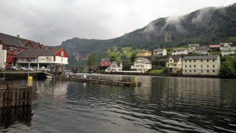 Cruising norway Norheimsund hordaland