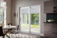 Patio Door & Pella 71.25-in X 79.5-in Clear Glass Left ...