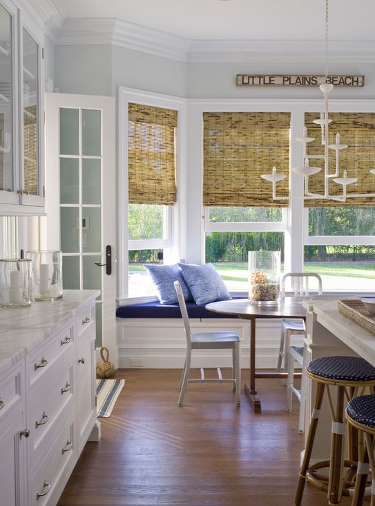 kitchen window ideas cabinet wine rack and styles to inspire your inner chef this bay lights up the room