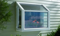 Garden window with ventilation
