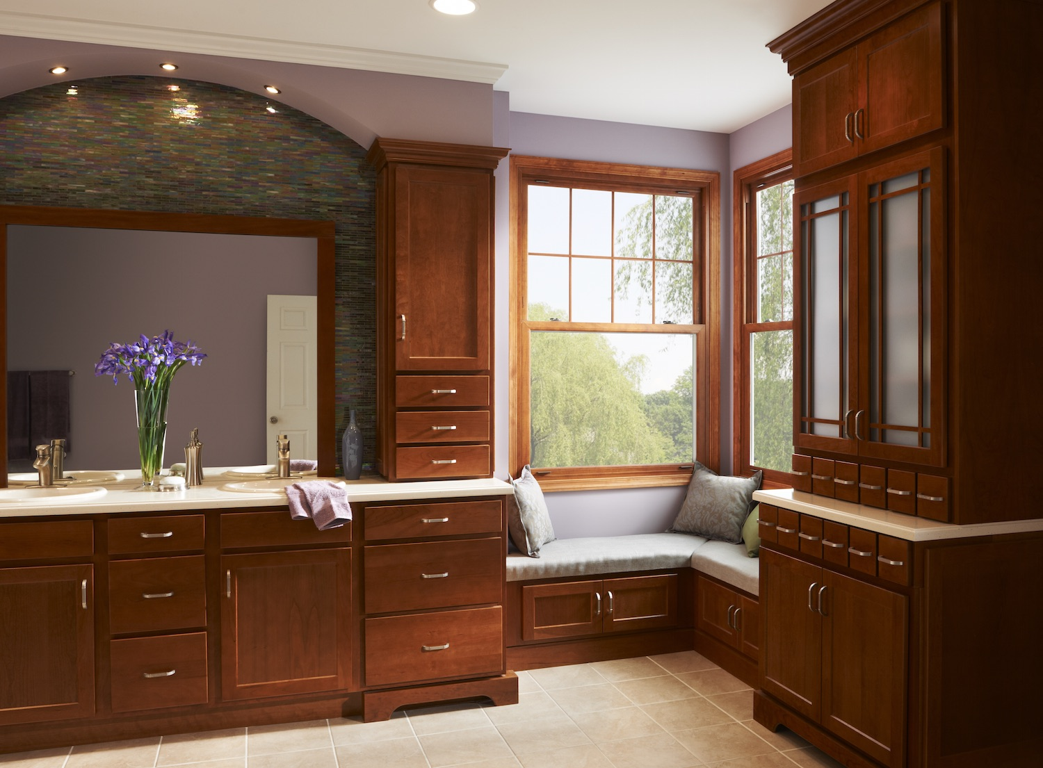 A cozy bathroom nook  Simonton Windows  Doors
