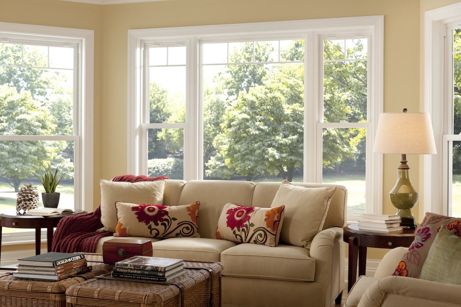 Custom double hung windows  Simonton Windows  Doors