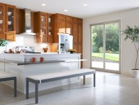 Sliding patio door kitchen entry | Simonton Windows & Doors
