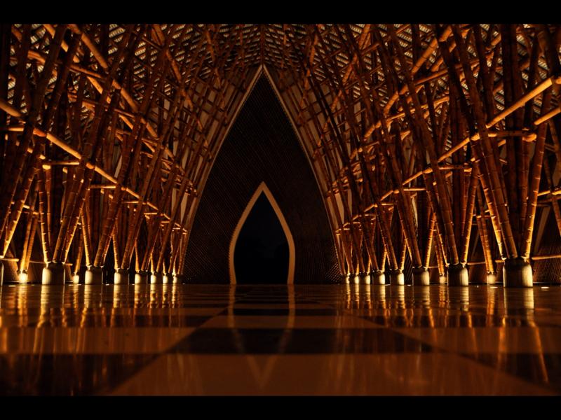 Stunning Bamboo Architecture by Simón Vélez. Credit: SimonVelez.net