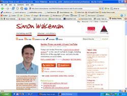 Website screengrab - small