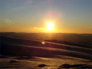 New day dawns