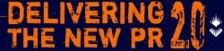 Delivering the new PR logo