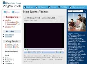 VlogYourJob screenshot